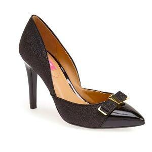 EUC Isaac Mizrahi Lizette d 'Orsay Sparkle Heels